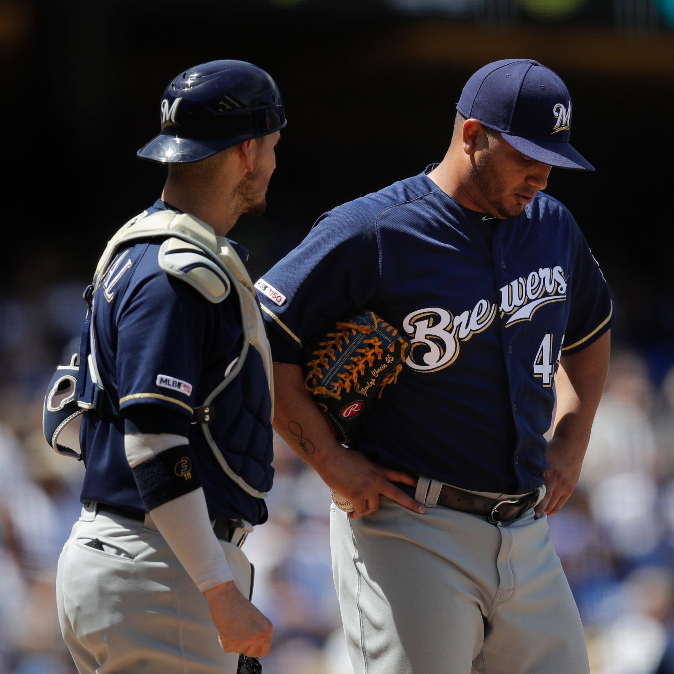 Haudricourt: With a struggling rotation, Brewers need Jhoulys Chacín to return to ace form