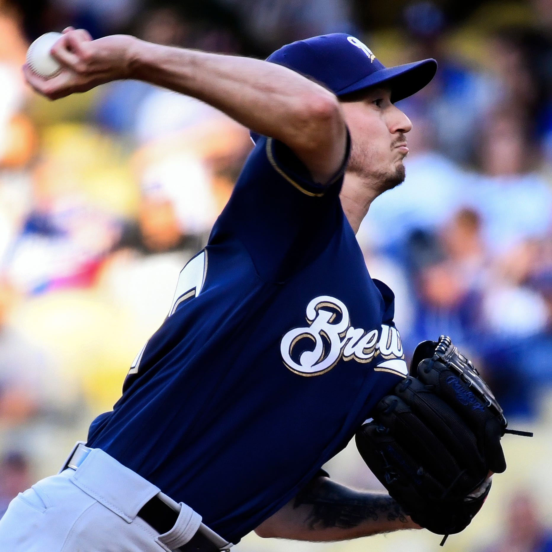 Brewers 4, Dodgers 1: Zach Davies continues strong start to season with seven solid innings