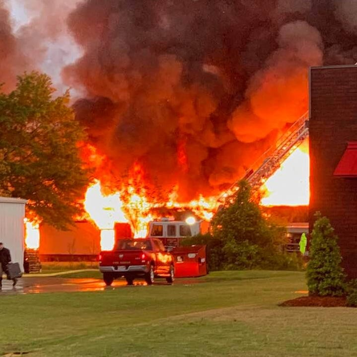 Coker: Boley Elementary fire caused 'total destruction'