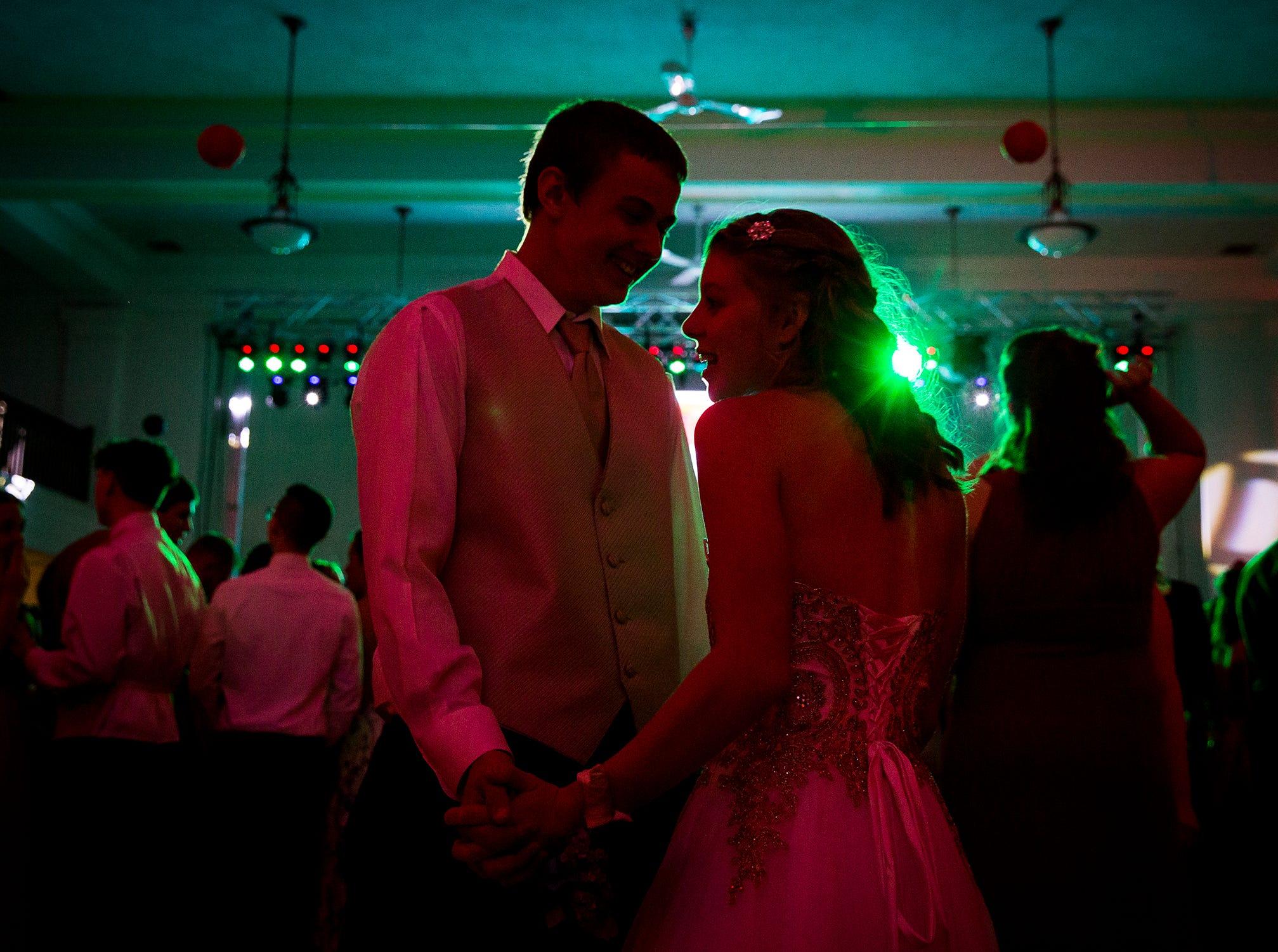 Yorktown students celebrate their 2019 prom at Cornerstone Saturday evening.