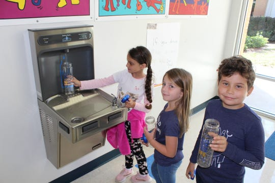 Students and faculty at Blue Zones Project-approved schools in Lee and Collier counties are able to bring reusable bottles and refill them at the hydration stations throughout their day. This has resulted in students drinking more water during the day, as well as a significant reduction in plastic bottle waste.