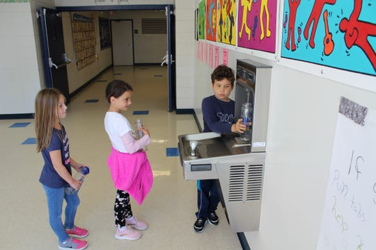 Through Blue Zones Project, Lee and Collier county schools have the option to add hydration stations throughout their campus. These wall-mounted water stations offer a tidier and more hygienic option than traditional water fountains.