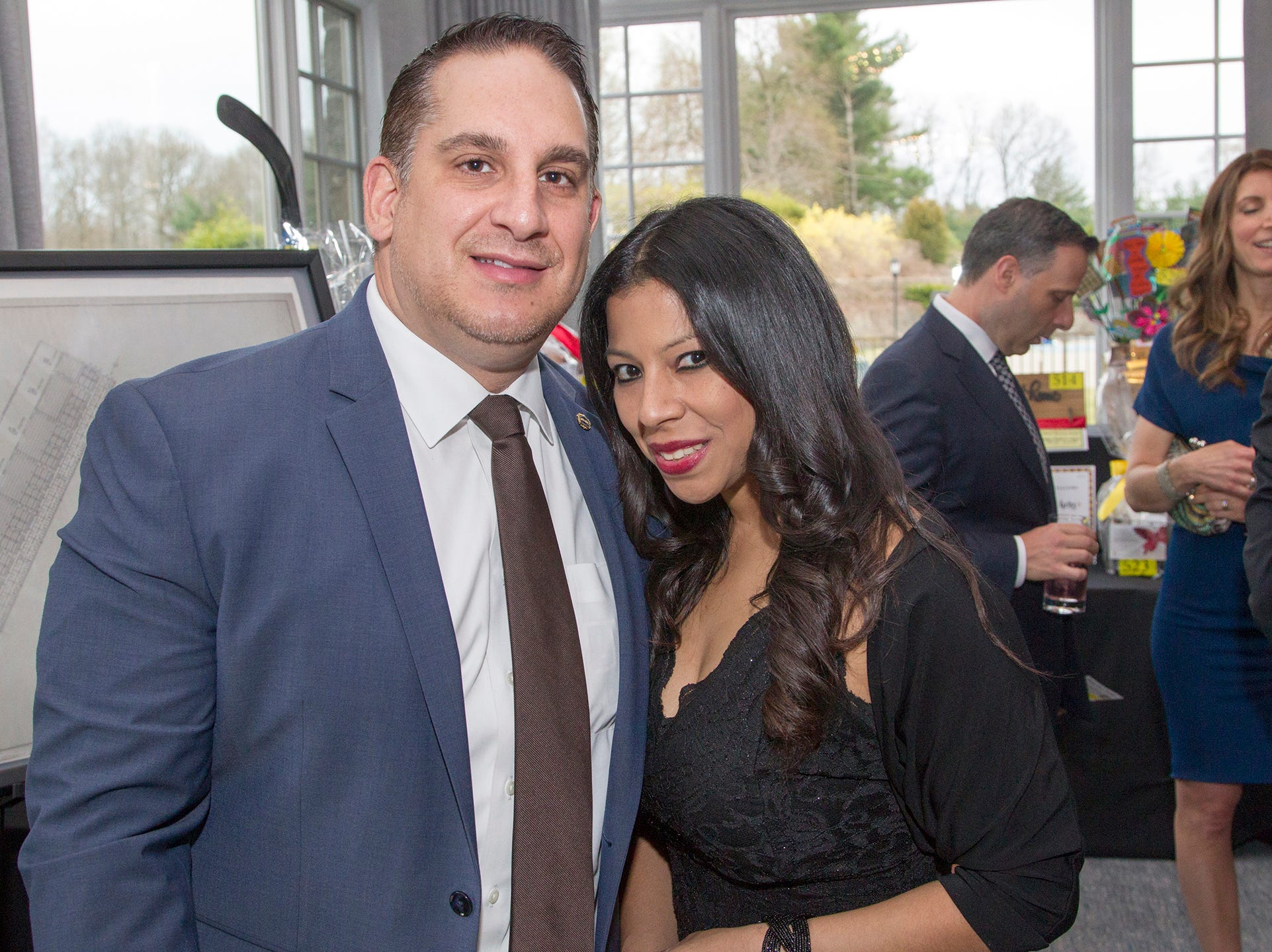 Nick Carnevale, Susan Collantes. Saddle River Day Annual Gala at Alpine Country Club 04/13/2019
