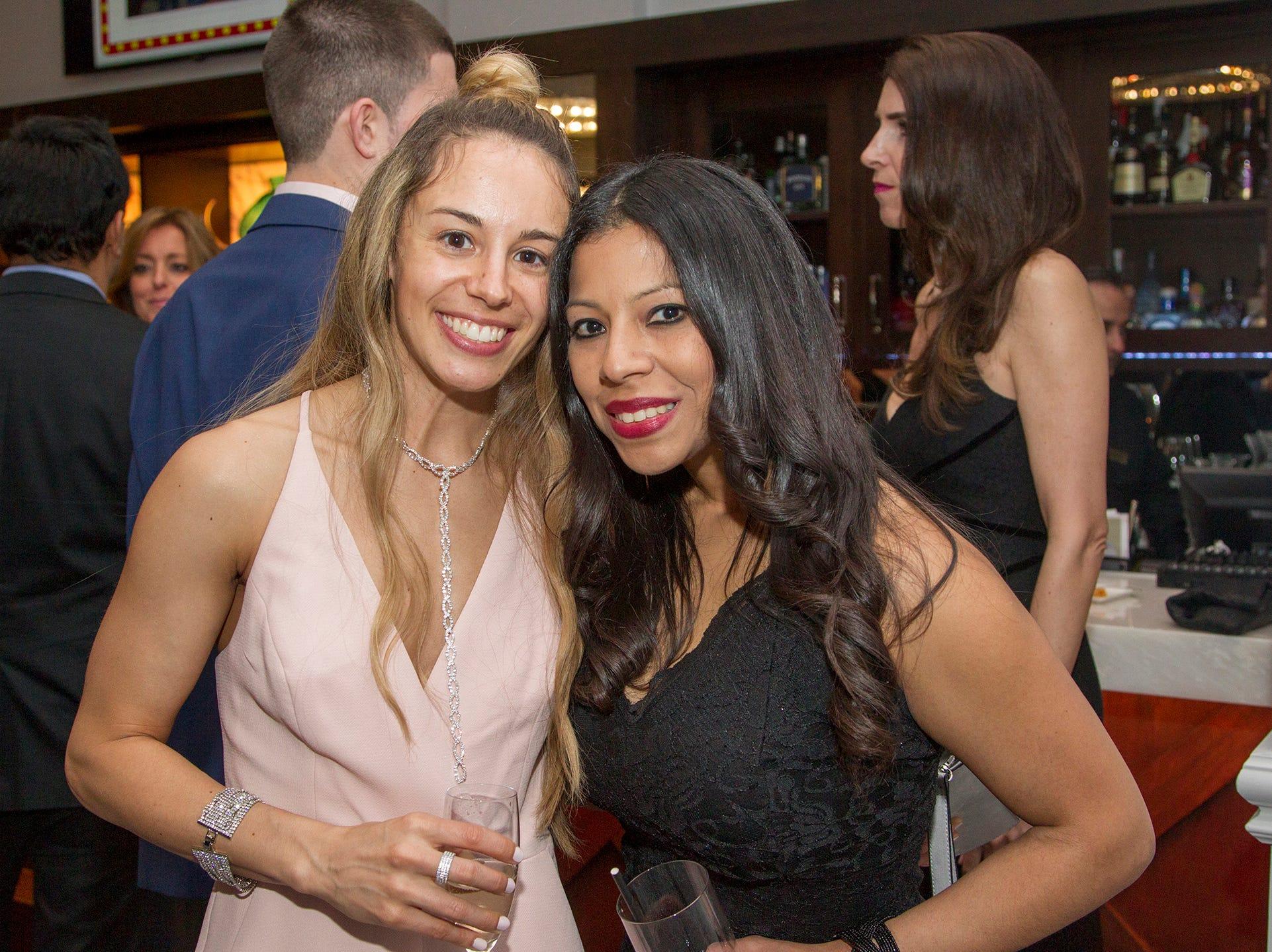 Megan THomas, Susan Collantese. Saddle River Day Annual Gala at Alpine Country Club 04/13/2019
