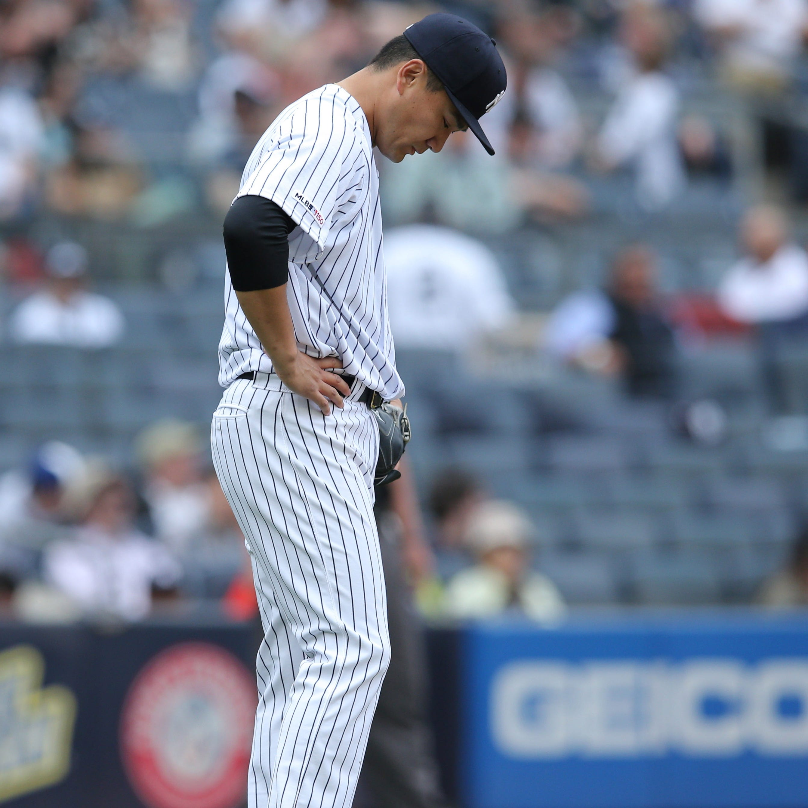 Yankees fail to clean up against lesser competition, losing another series at home