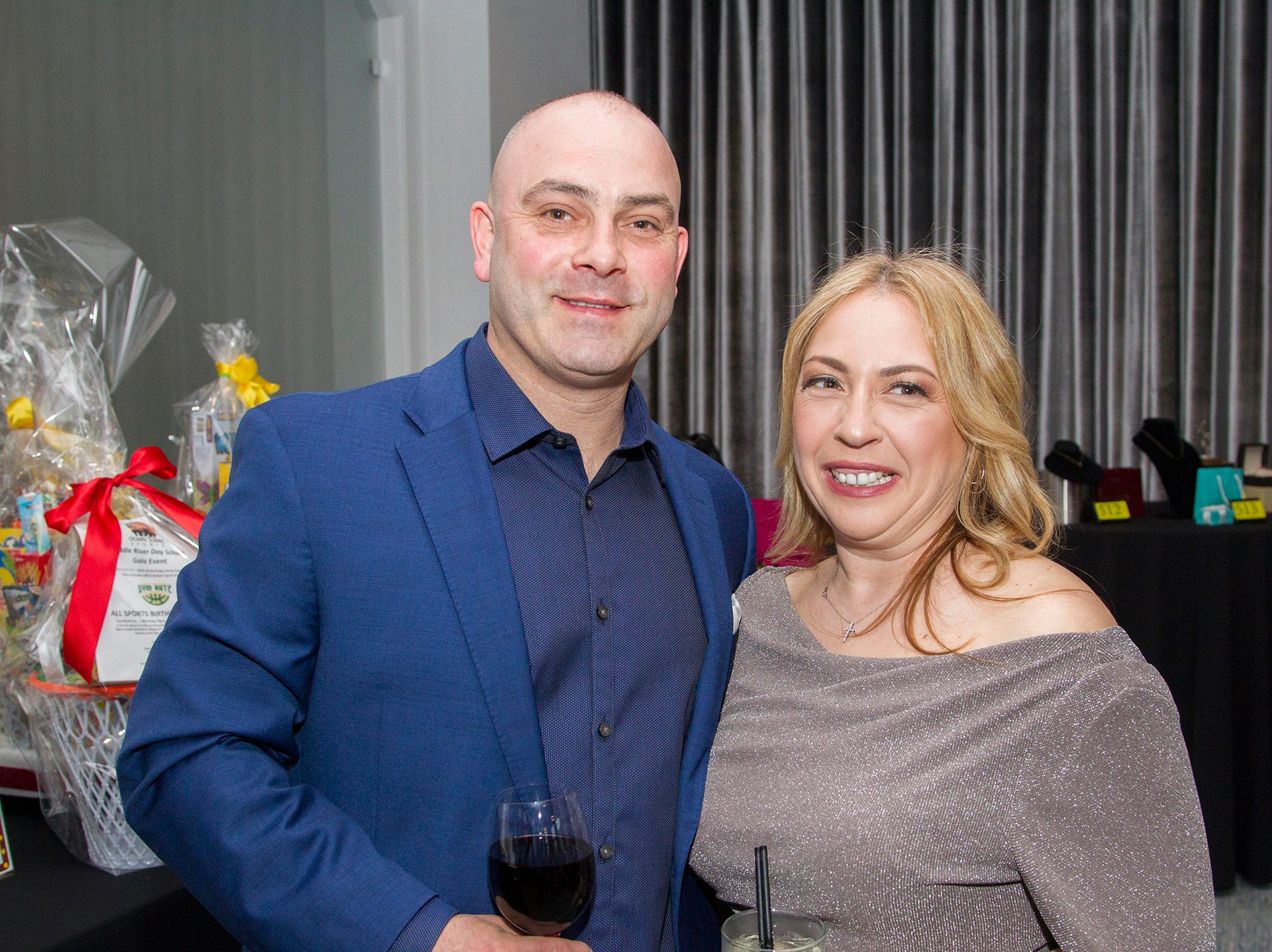 John and Anny Mansfield. Saddle River Day Annual Gala at Alpine Country Club 04/13/2019