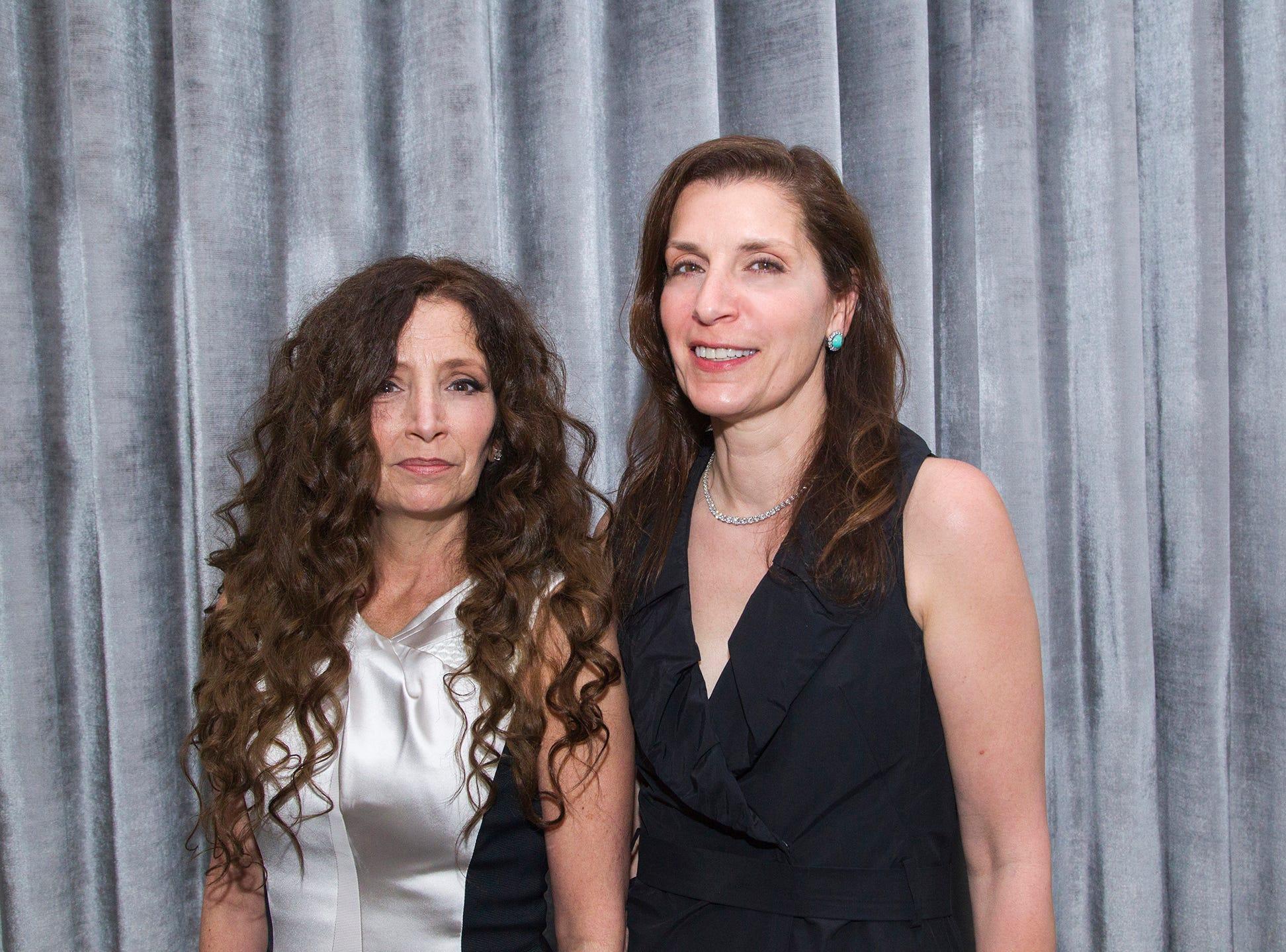 Joannmarie Giandinoto, Sylvia Jordan. Saddle River Day Annual Gala at Alpine Country Club 04/13/2019