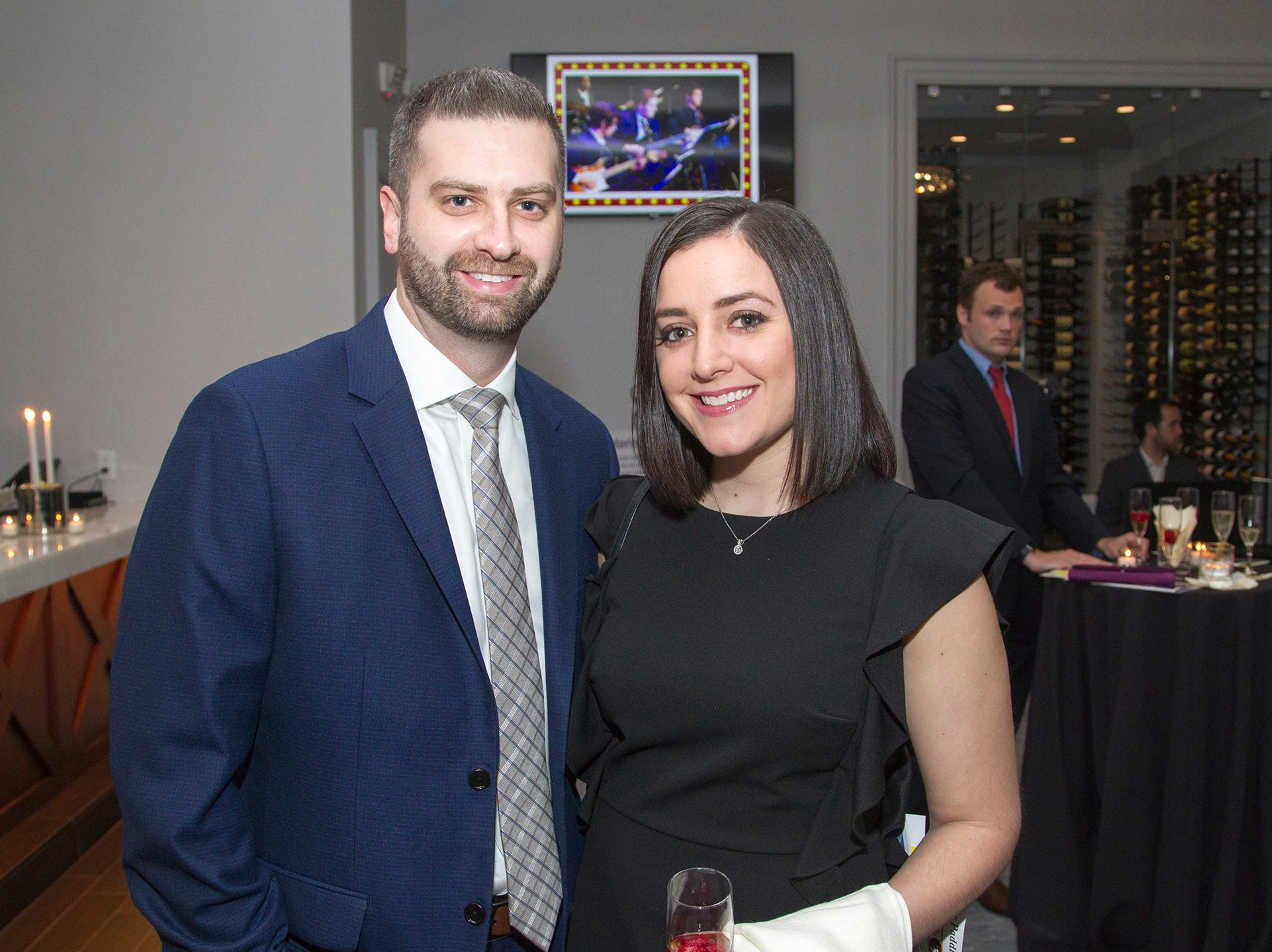 Brendan and Colleen Boswell. Saddle River Day Annual Gala at Alpine Country Club 04/13/2019
