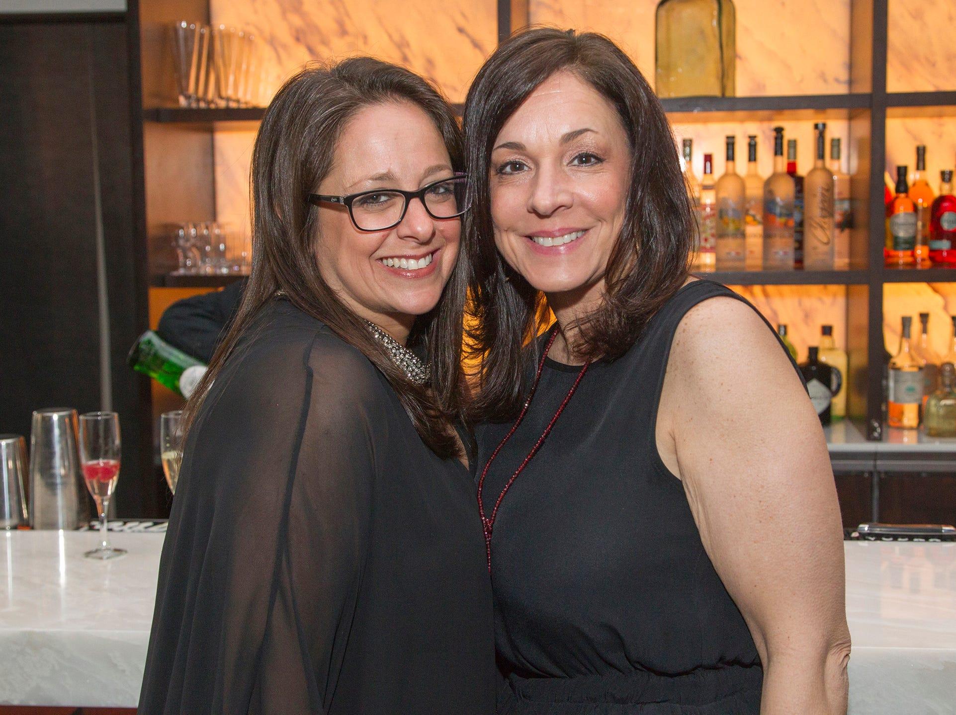 Stephanie Janirr, Debbie Eliopoulos. Saddle River Day Annual Gala at Alpine Country Club 04/13/2019