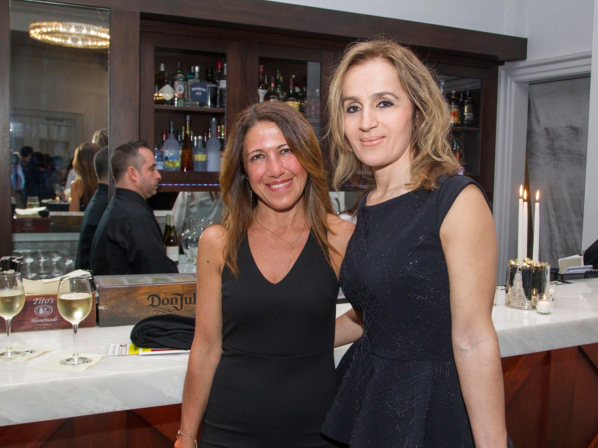 Alexandra Gannotti, Sefide Martinavilch. Saddle River Day Annual Gala at Alpine Country Club 04/13/2019