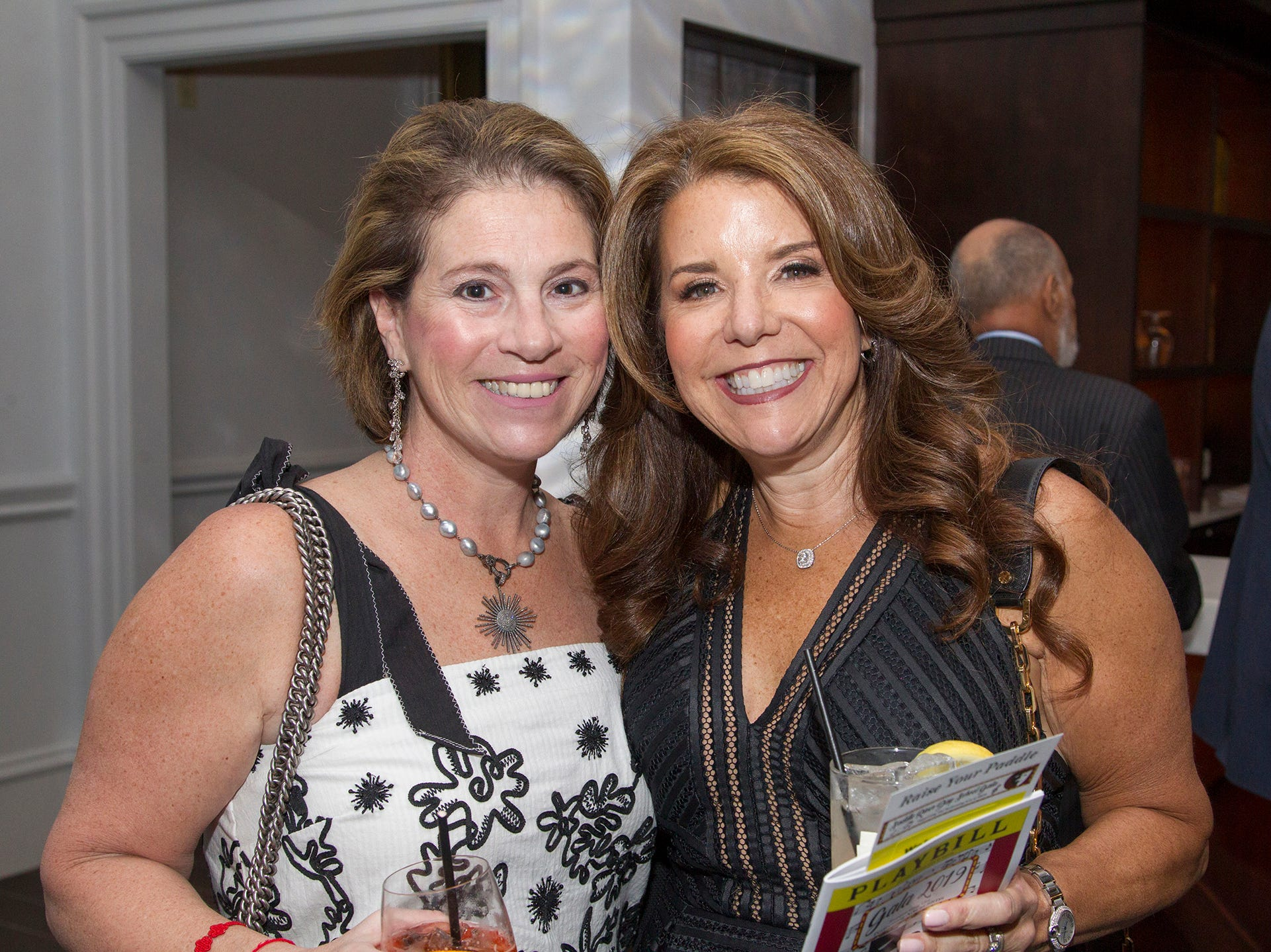 Jill Kallet Lustigman, Andrea Weinberger. Saddle River Day Annual Gala at Alpine Country Club 04/13/2019