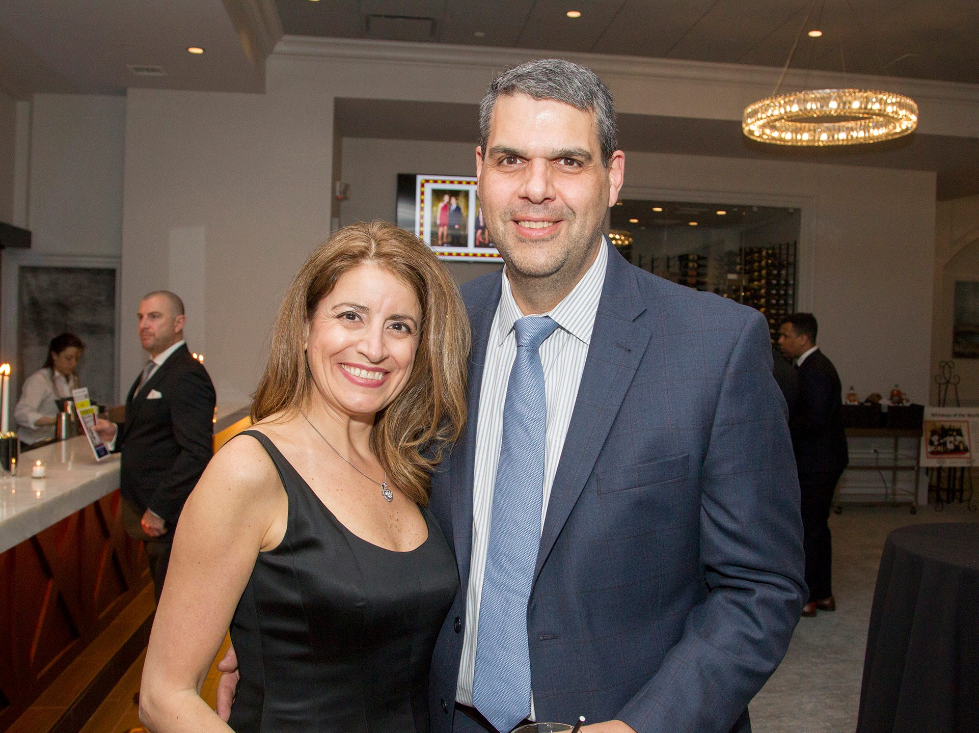 Emma and Peter Viglucci. Saddle River Day Annual Gala at Alpine Country Club 04/13/2019