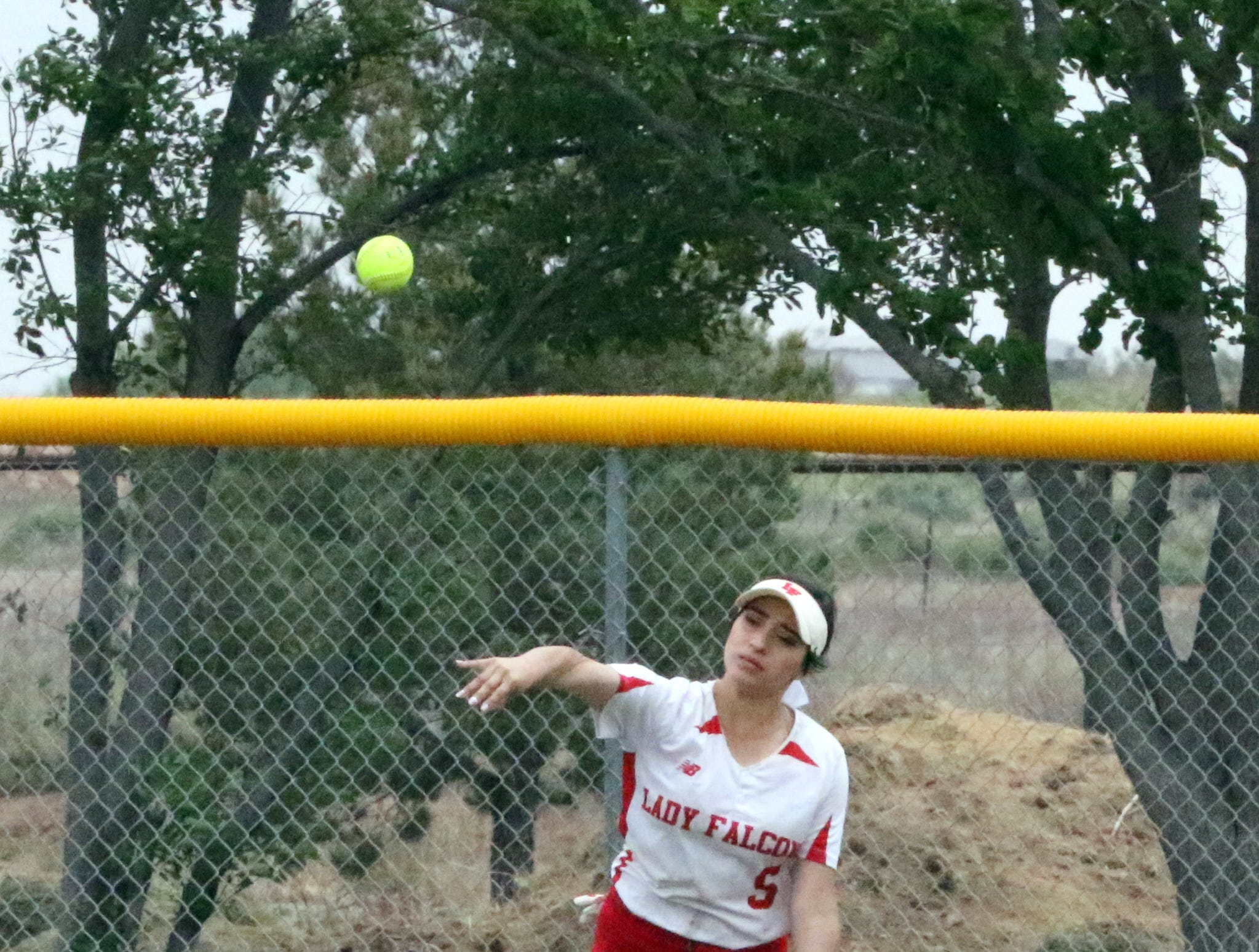 Photo highlights during Saturday's doubleheader. Eunice won Game 1, 13-12 and Loving won Game 2, 16-6.