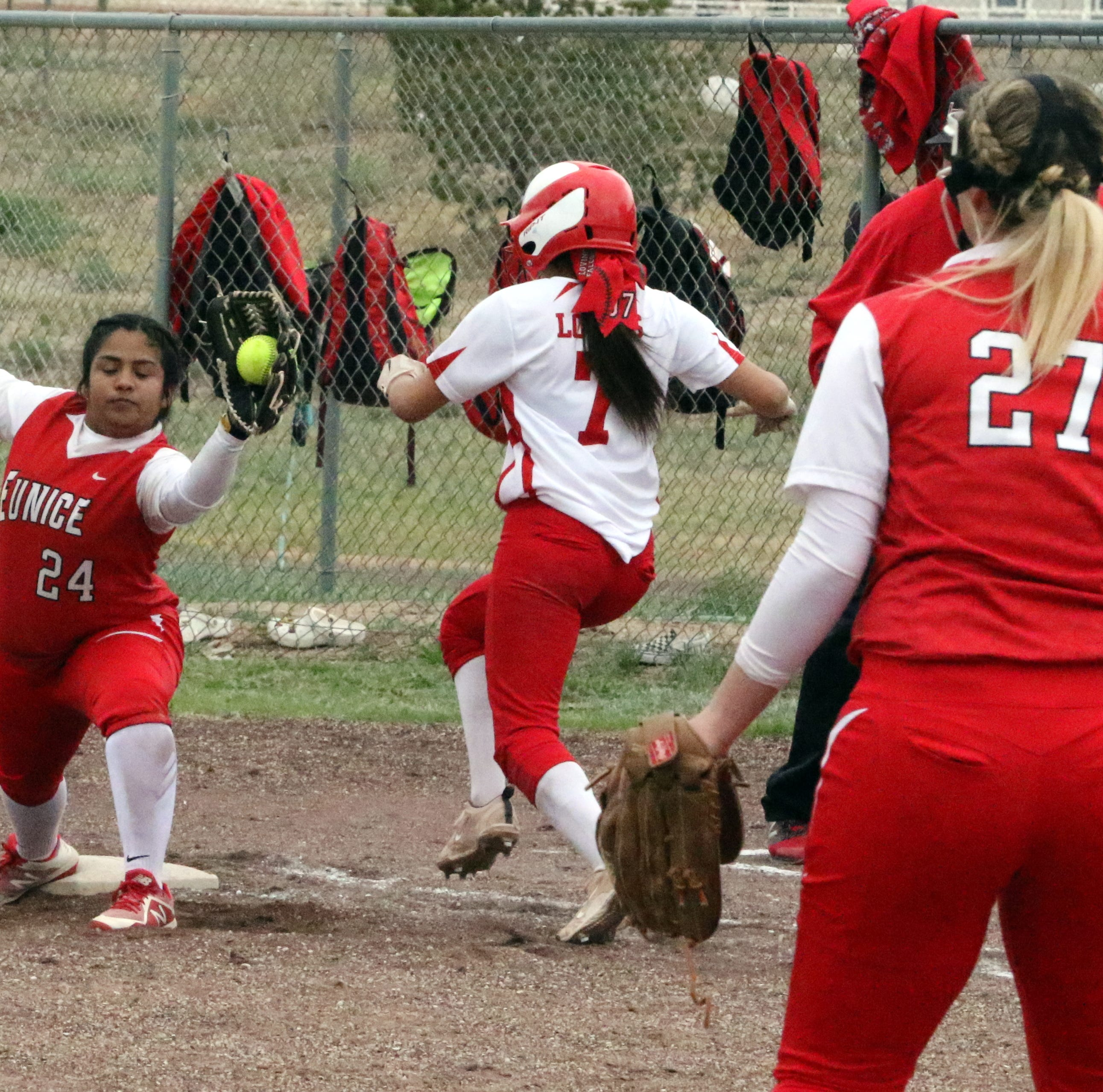 Loving splits series with Eunice to start district play