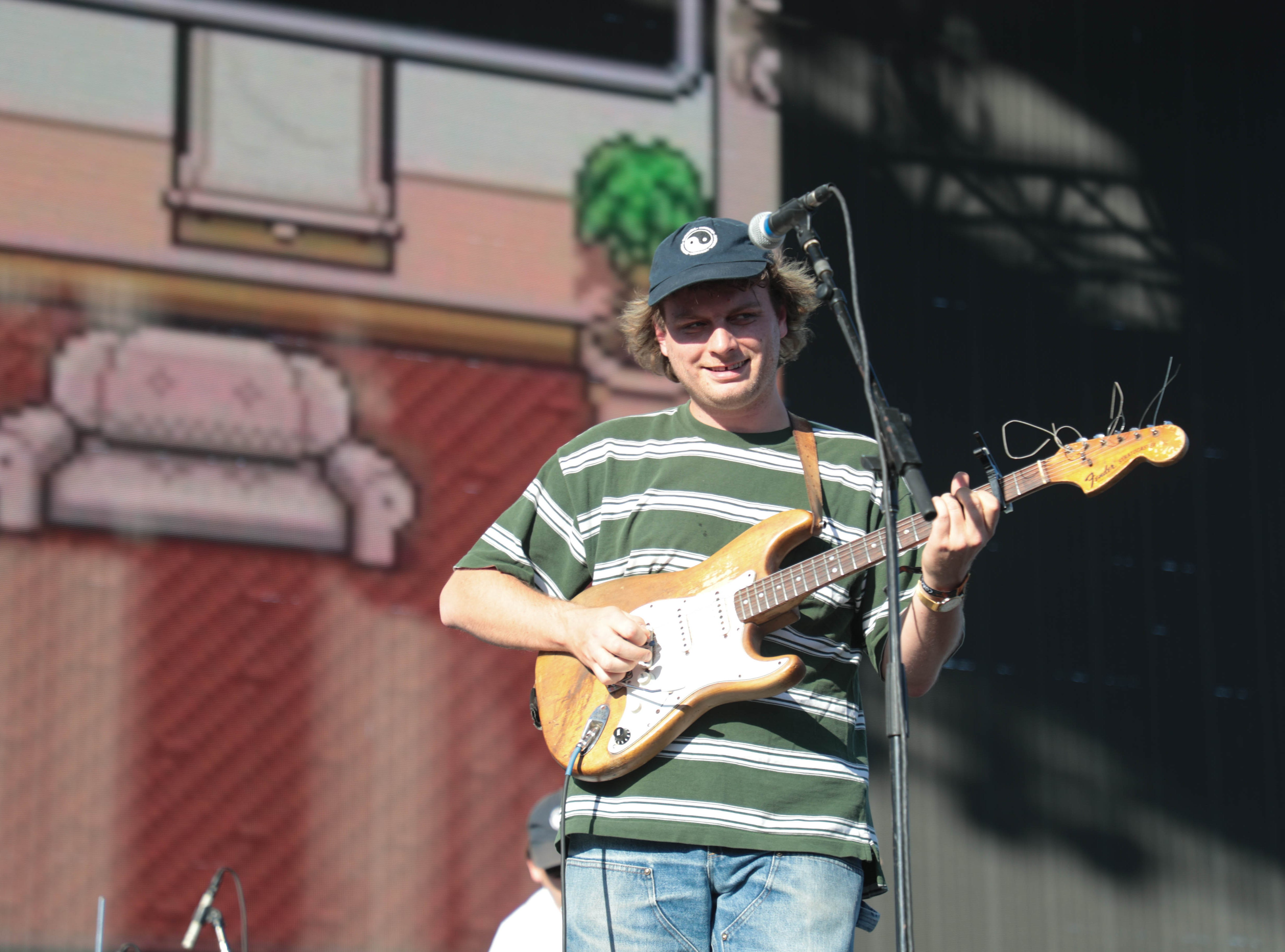 Mac Demarco performs at Coachella Valley Music and Arts Festival on Saturday, April 13, 2019.