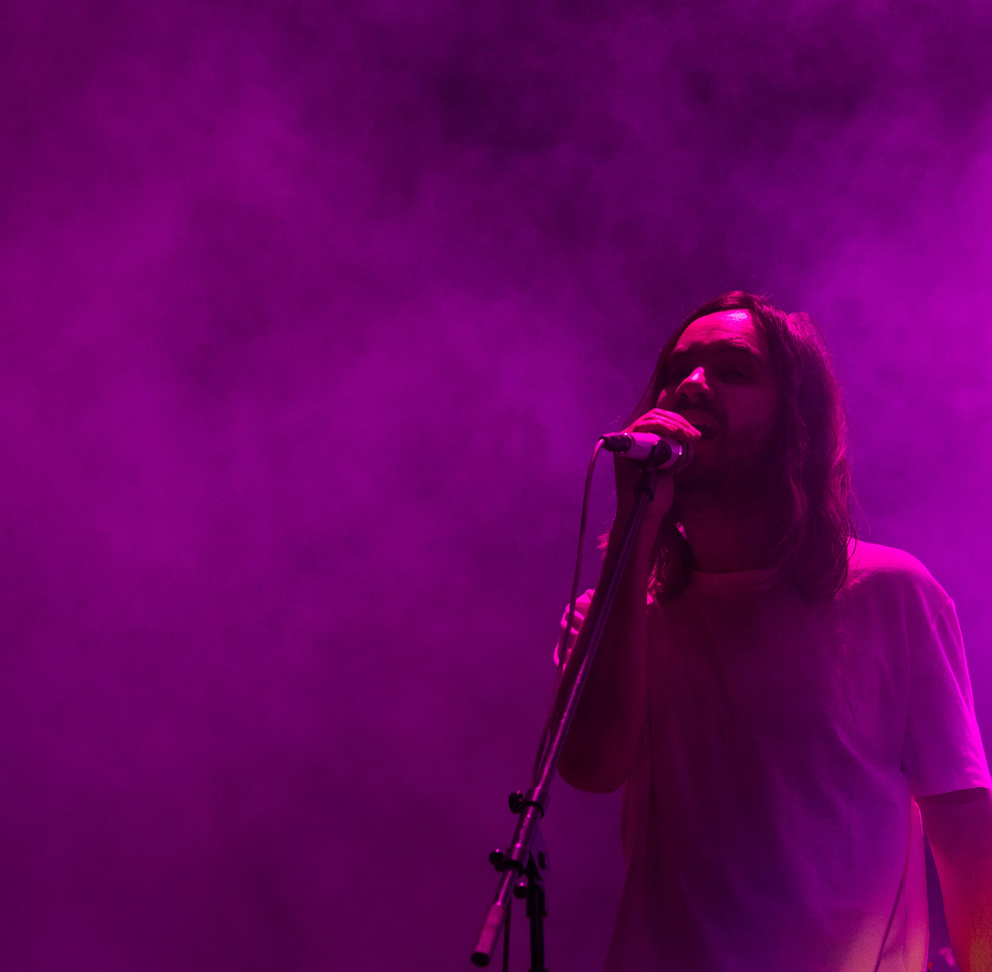 Review: Tame Impala dazzles with visually striking, psychedelic Coachella set