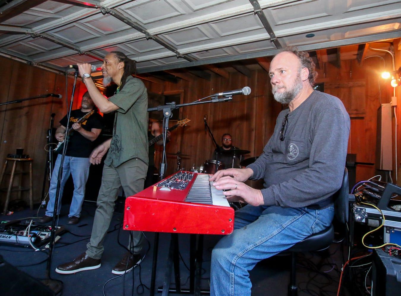 Ja Rhythm performs on Saturday, April, 13, 2019, during Seville Quarter's annual Reggae Fest.