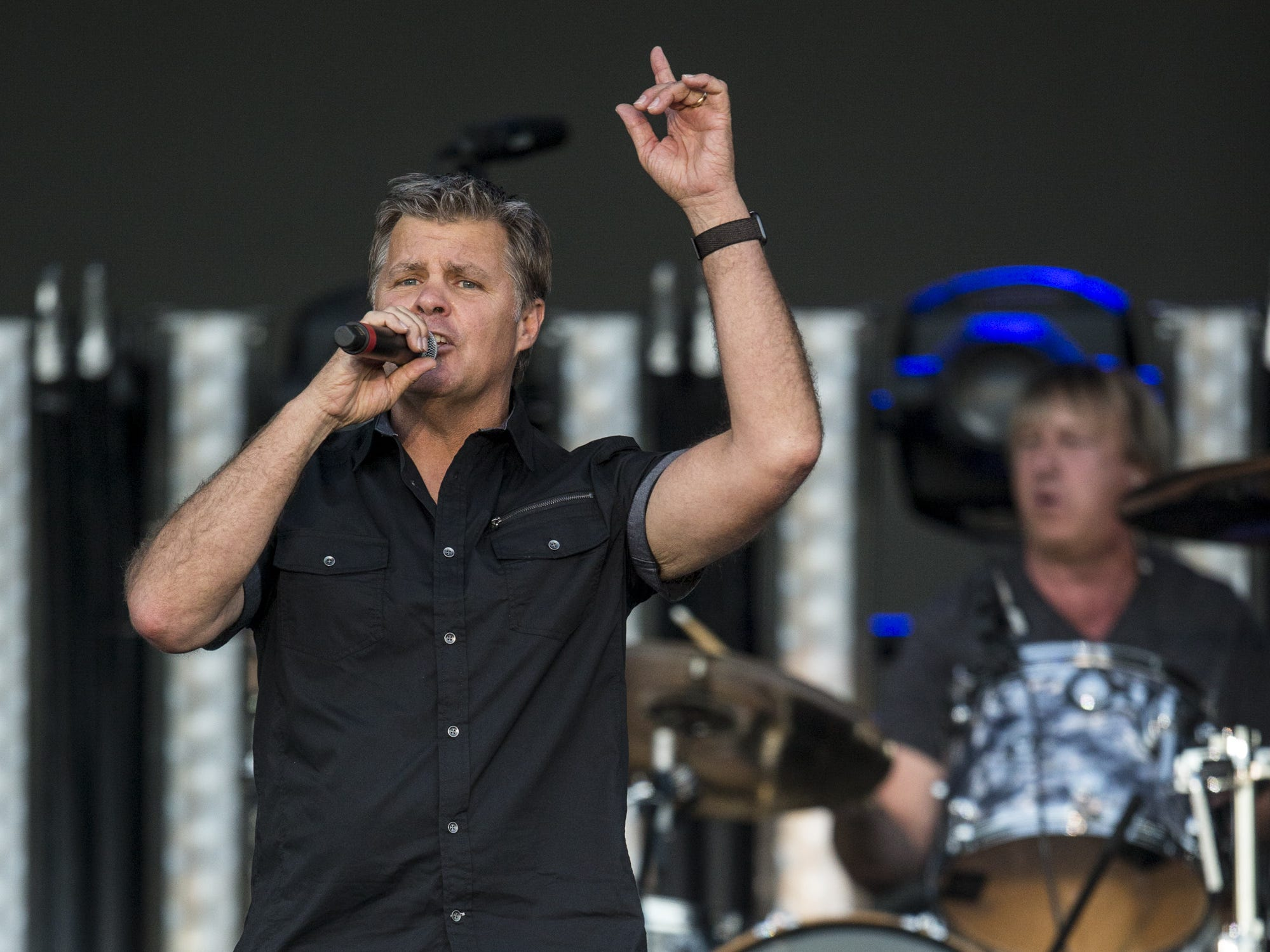 Lonestar performs on April 13, 2019, during Day 3 of Country Thunder Arizona in Florence, Arizona.