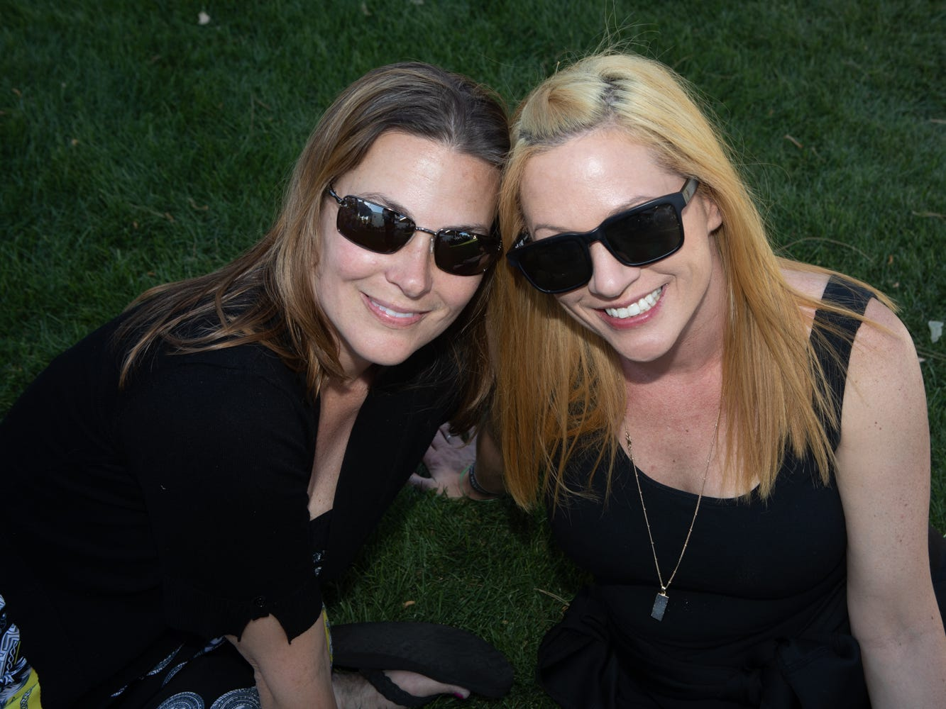 Shaded areas kept people cool at the Scottsdale Culinary Festival on April 13, 2019.