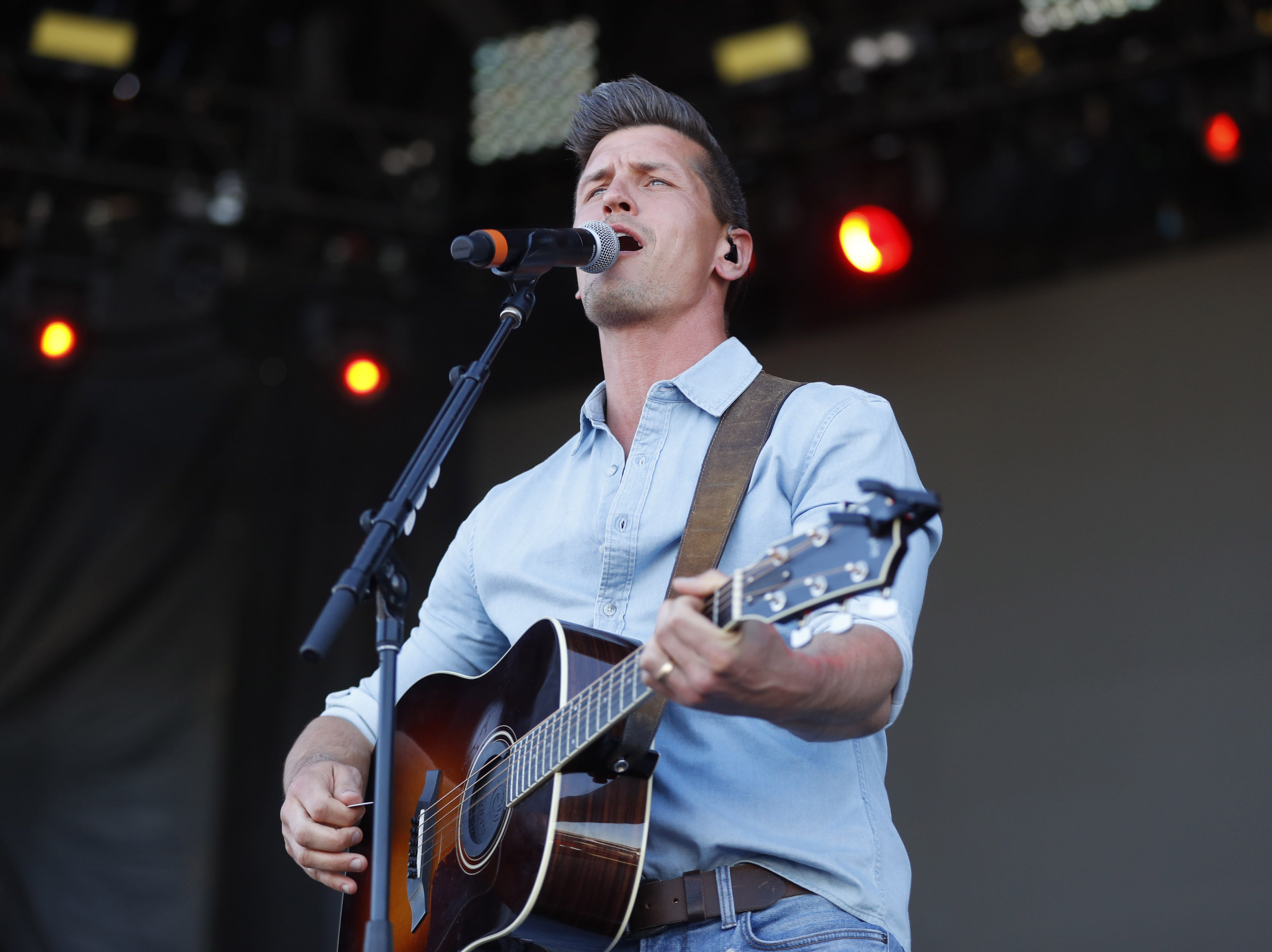 High Valley's Brad Rempel performs during Country Thunder in Florence, Ariz. on Saturday, April 13, 2019.