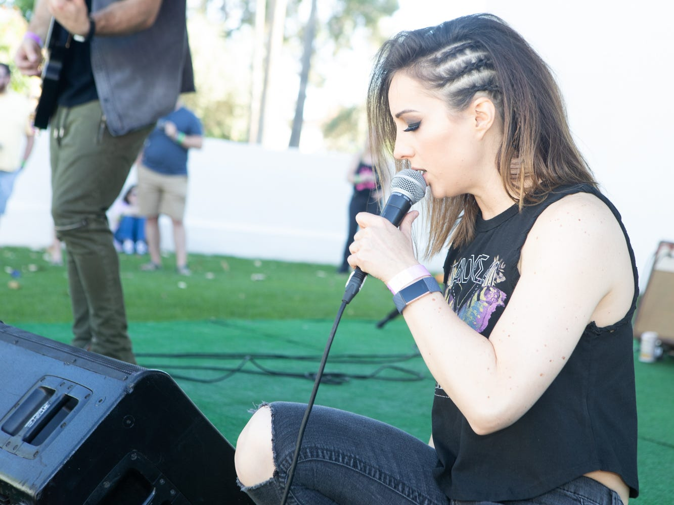 Jane N' The Jungle performs at the Scottsdale Culinary Festival on April 13, 2019.