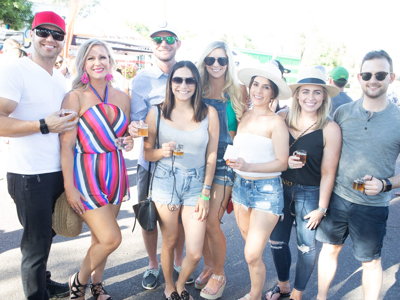 This group had plenty to be happy about at the Scottsdale Culinary Festival on April 13, 2019.