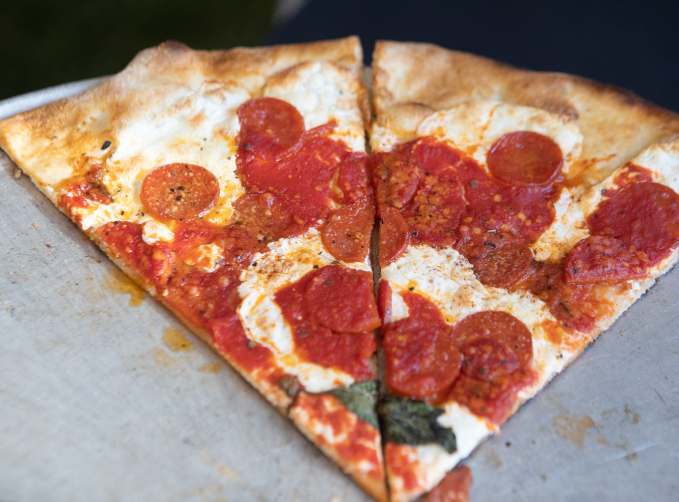 Grimaldi's pizza was a great spot for pie at the Scottsdale Culinary Festival on April 13, 2019.