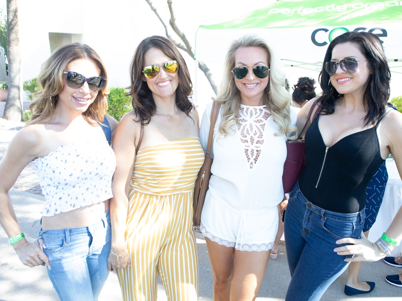 These gals were all smiles at the Scottsdale Culinary Festival on April 13, 2019.