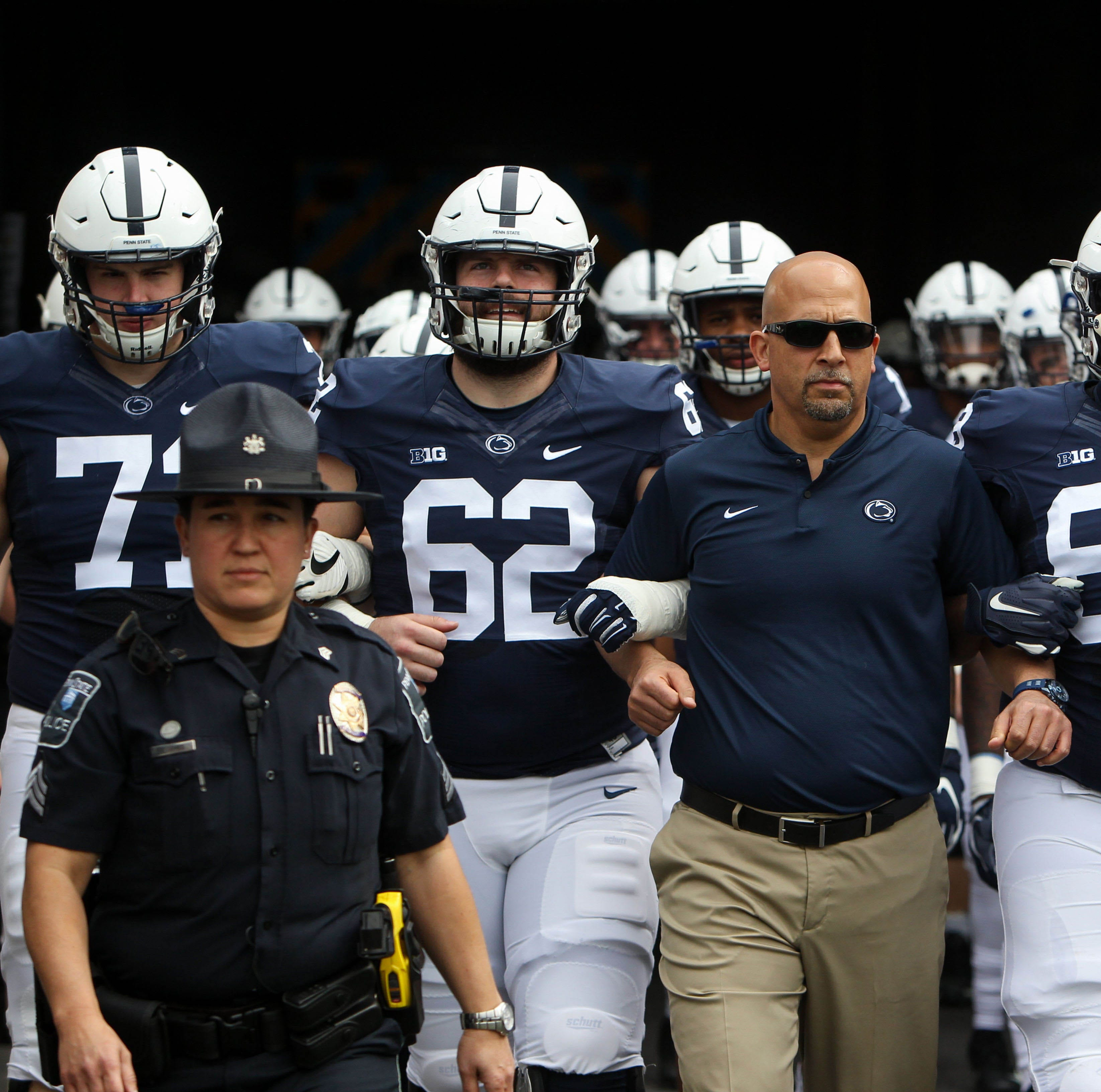 At Penn State's Blue-White Game, walk-on receiver awarded scholarship on the spot
