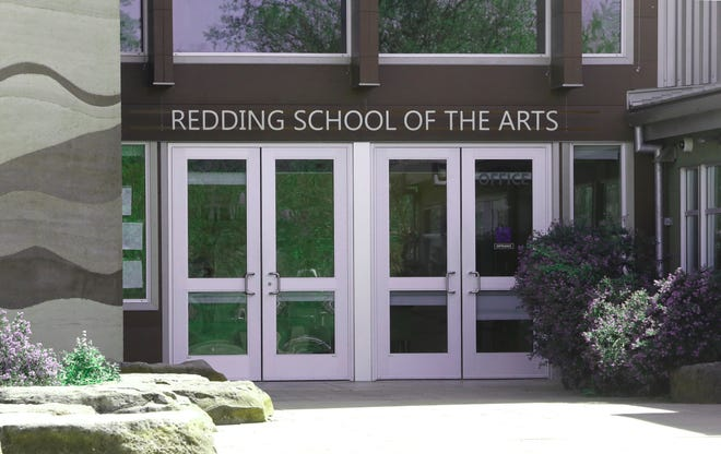 Redding School of the Arts, seen in this April 13, 2019 picture, is one of the schools still considered dangerously undervaccinated by the state.