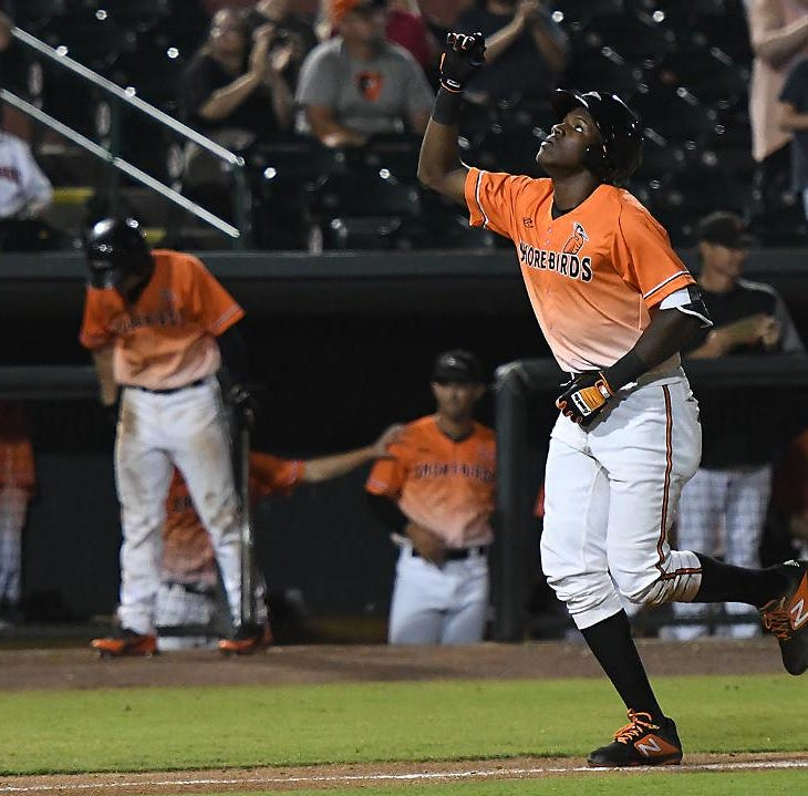 Grand slam caps stunning Shorebirds comeback after being no-hit for eight innings