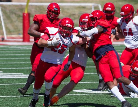 Dixie State University football spring game Saturday, April 13, 2019.