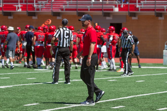 Dixie State coach Paul Peterson will have to be creative in his scheduling tactics, depending on what the Big Sky decides with non-conference games in the next week.