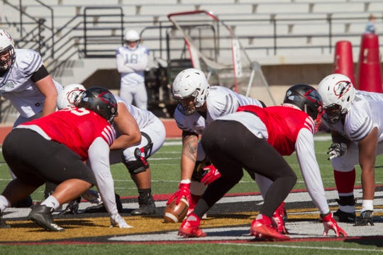 Southern Utah University football spring game Saturday, April 13, 2019.