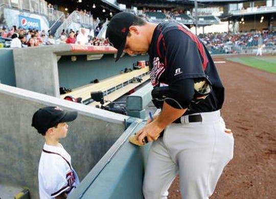 El Paso's Fernando Rodriguez is a relief pitcher for the El Paso Chihuahuas.