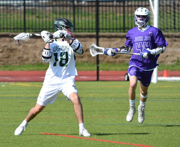 Pleasantville senior midfielder Jack Howe, who is heading to Georgetown in the fall, is getting more attention from defenders this season and playing a bigger role at both ends of the field.