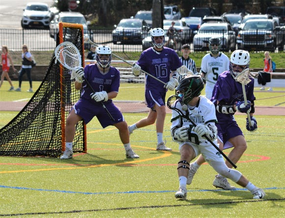 Jake Coleman, a junior attackman who is committed to Fairfield, leads a revamped Pleasantville offense with 14 goals and six assists in five games.