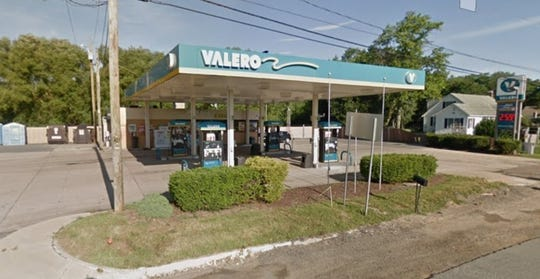 A clerk was injured during an armed robbery at the Valero gas station at 7865 Bay Road.