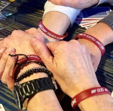In cancer battle, friends ensure no one fights alone