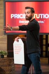 "Dan Killian of Chicago brought his card game Pricetitution to ""Shark Tank"" seeking investment."