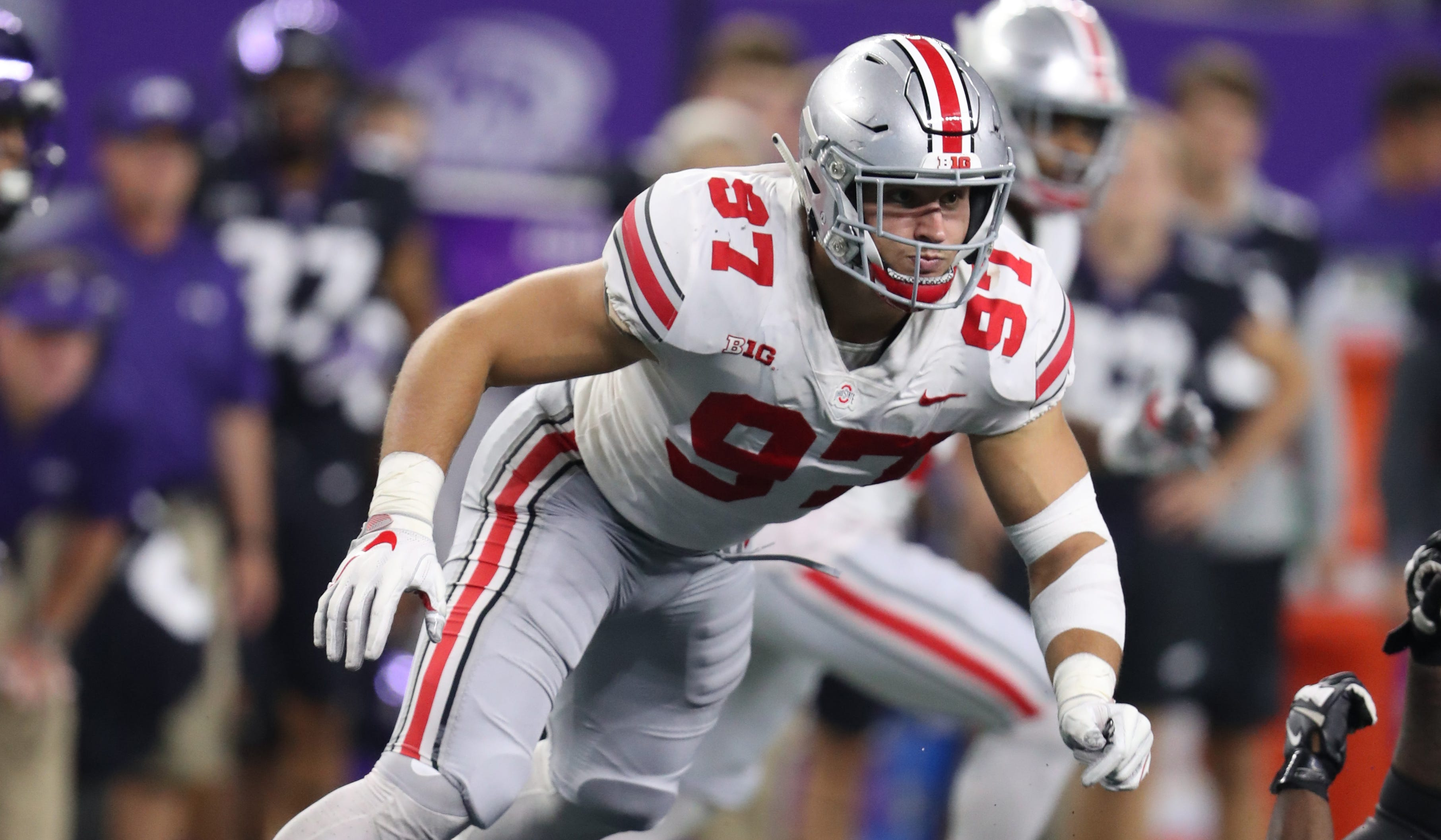 In a week and a half, we'll know where Nick Bosa will go in the NFL draft.