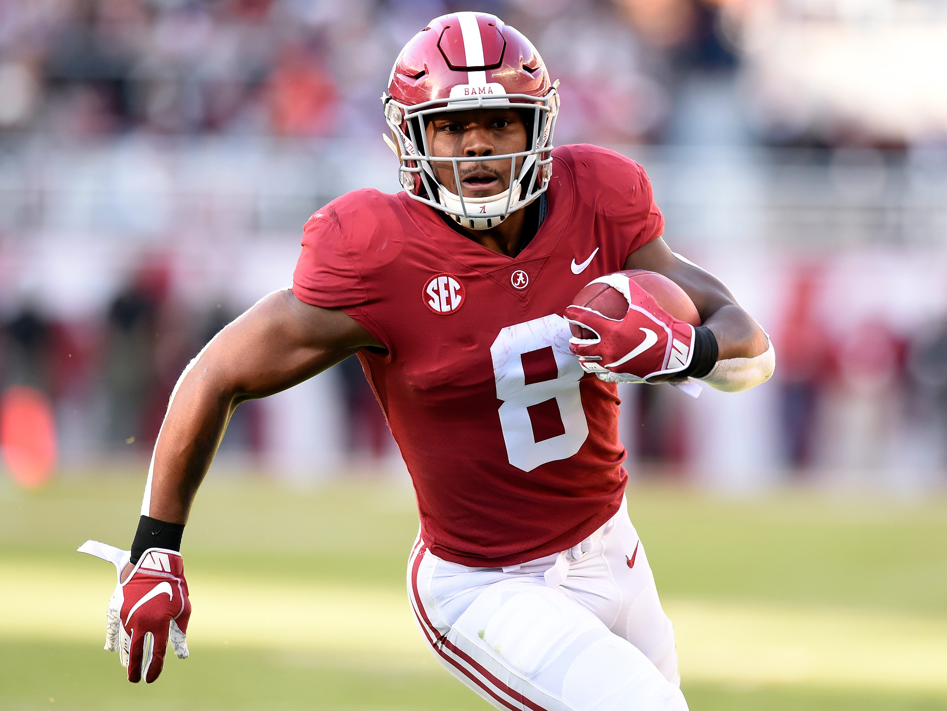 Colts coaches Frank Reich and Nick Sirianni beat Alabama RB Josh Jacobs in HORSE