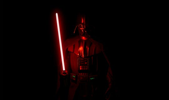 """Get up close and personal with an imposing Sith lord with the new """"Vader Immortal"""" virtual-reality experience."""