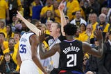 SportsPulse: Who said the NBA playoffs was predictable? Day one was anything but and USA TODAY's Martin Rogers breaks it all down.
