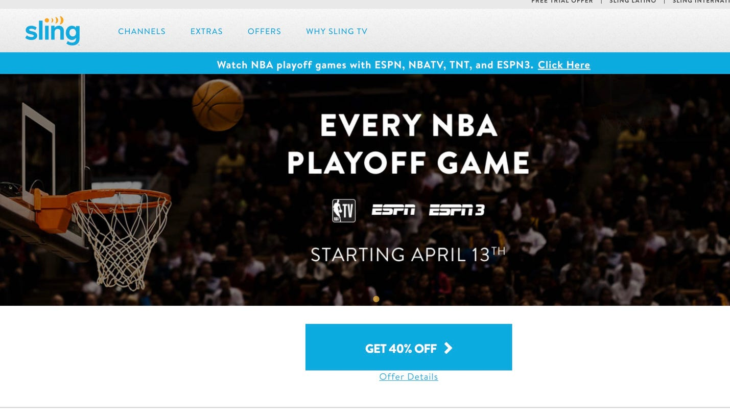 Sling, Fubo try to help sports fans cut the cord