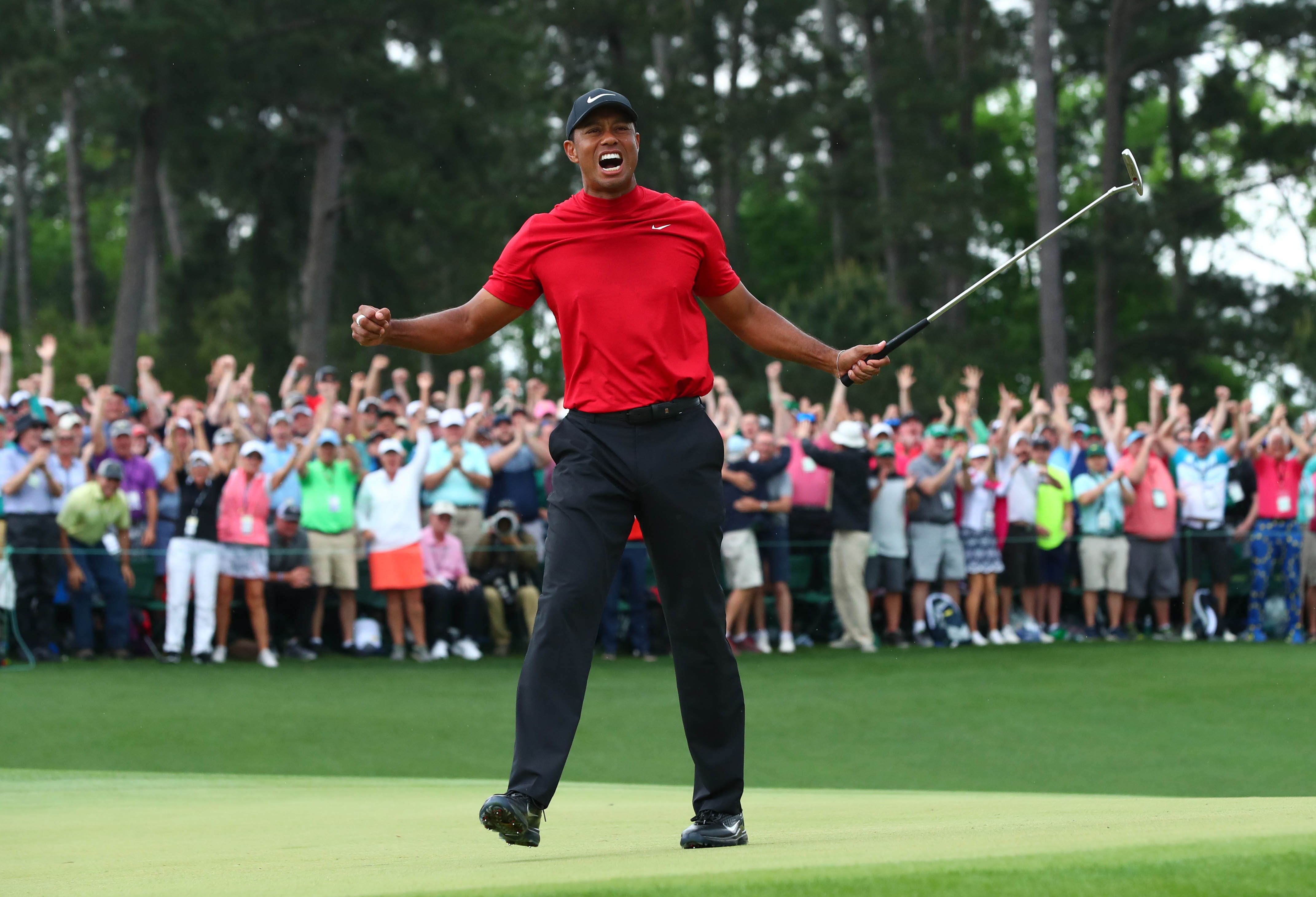 tiger woods  masters win completes sports comeback for ages