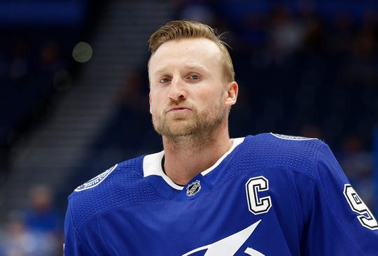 Tampa Bay Lightning star Steven Stamkos has no goals or points in the first round against the Columbus Blue Jackets.