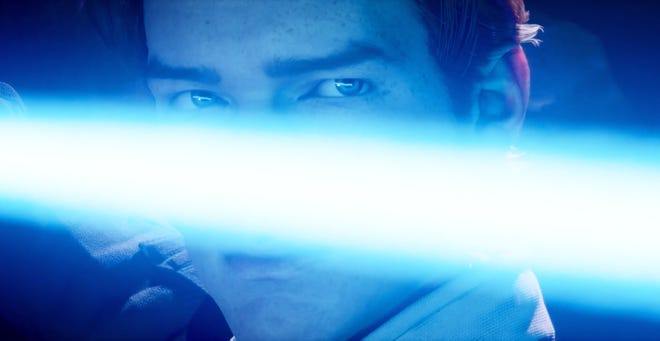 "A new lightsaber-wielding hero gets the spotlight in the video game ""Star Wars Jedi: Fallen Order."""