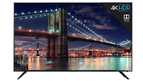 Watch all your favorite shows on this affordable TV with a built-in Roku platform.