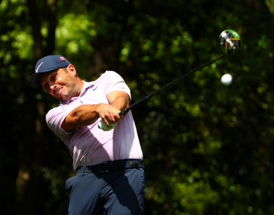 Francesco Molinari leads by two shots going into the final round of the Masters.